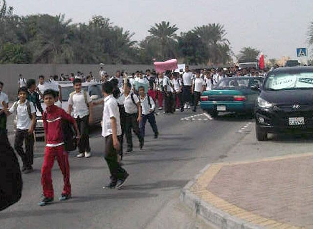 14th Feb youth revolution coalition's message to Bahraini students : you are the mainstay & future of Bahrain