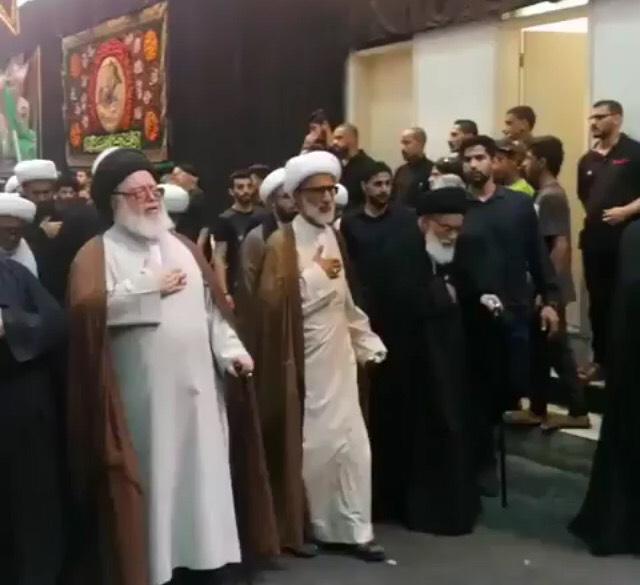 موكب «علماء البحرين» يتحدّى كافة أشكال الاضطهاد الطائفي