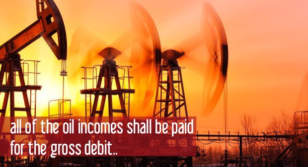 «Economy without Hamid» campaign :all of the oil incomes shall be paid for the gross debit
