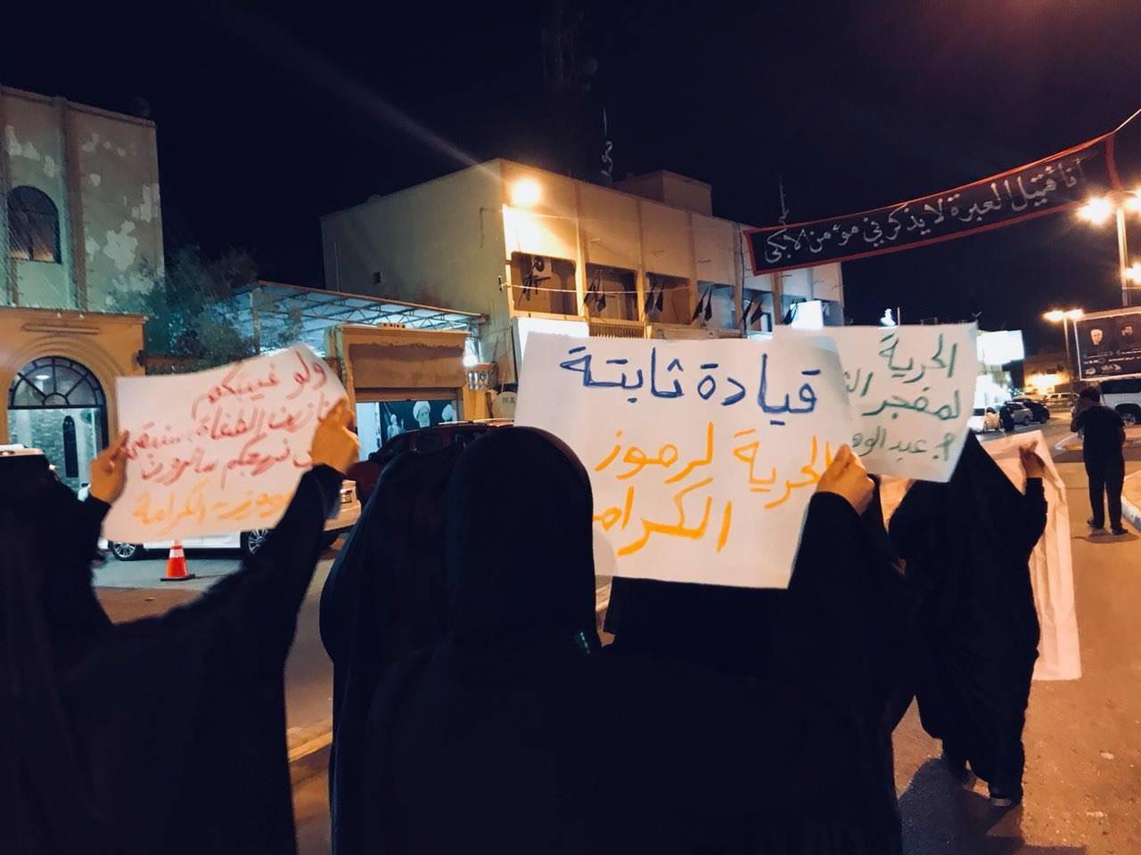 مسيرة نسويّة في «بوري» تتضامن مع رموز الكرامة المعتقلين