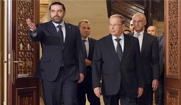 سعد الحريري في بيروت يتريث في تقديم استقالته