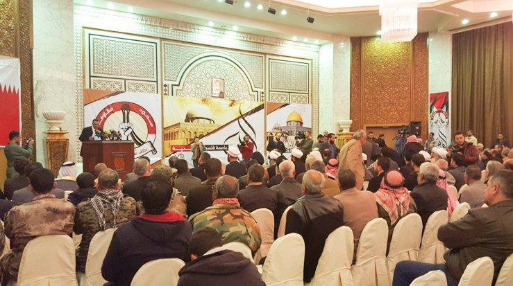 ائتلاف 14 فبراير ينظّم مهرجان «القدس عاصمة فلسطين الأبديّة» في دمشق