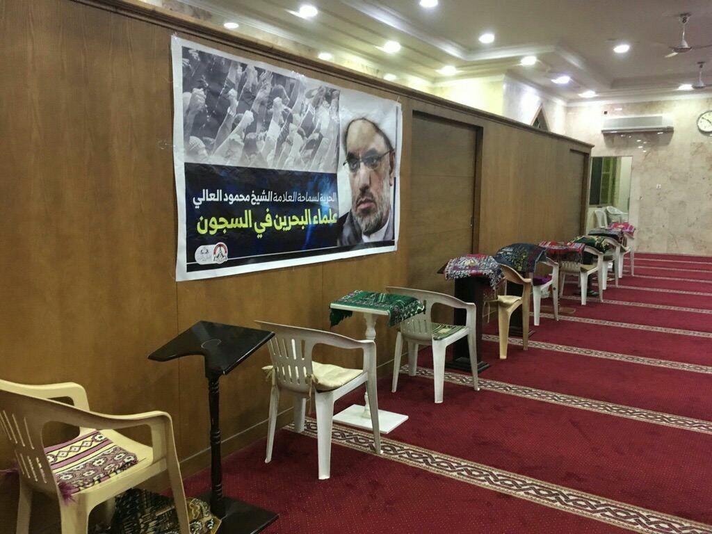 يافطات تضامنيّة مع «العلّامة محمود العالي» تُعلّق  في مساجد عالي
