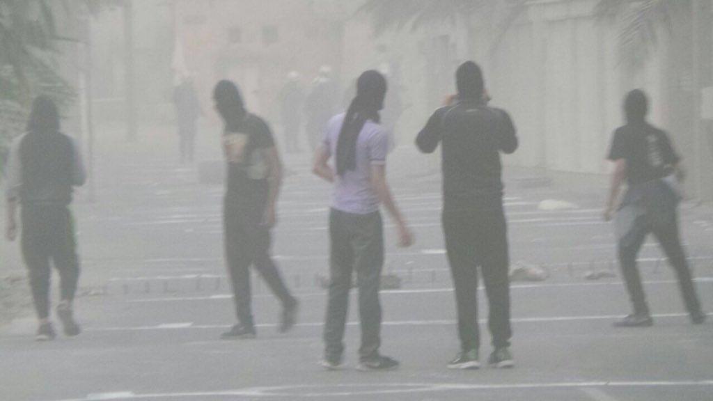 بلدة أبو صيبع تفتتح «فجر التظاهرات» في أولى جولات «14 فبراير»