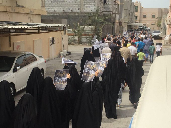 «أبوصيبع» تشهد تظاهرة مؤكّدة على «حقّ تقرير المصير»