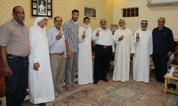 القيود الخليفيّة تتكسّر عن المواطن أحمد زهير