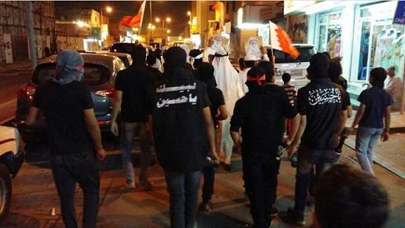 تظاهرة غاضبة في «كرزكان وبوري» رفضًا للاحتلال السعوديّ