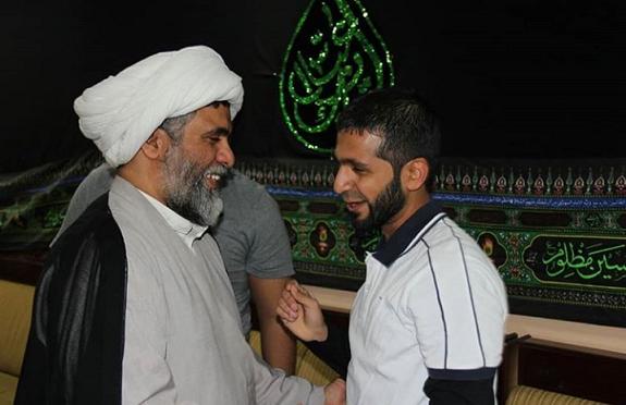 القيود الخليفيّة تتحطم عن الشاب أحمد نصيف