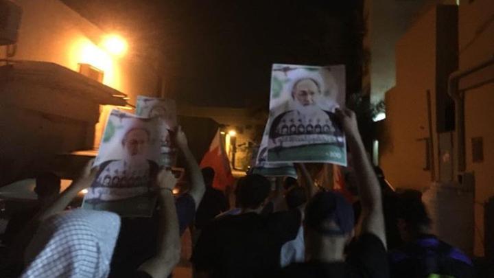أهالي بلدتي أبو صيبع والشاخورة يتظاهرون انتصارًا للفقيه القائد قاسم