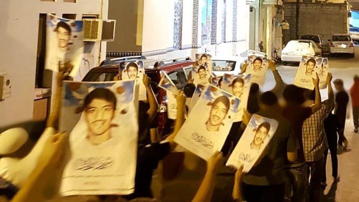 تظاهرات غاضبة وفاءً للشهيد «حسن البحرانيّ»..وتحضيرات لزفاف رمزيّ