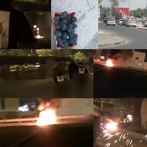 تنديدًا بجرائم النظامين السعوديّ والخليفيّ..حِراك غاضب في البحرين