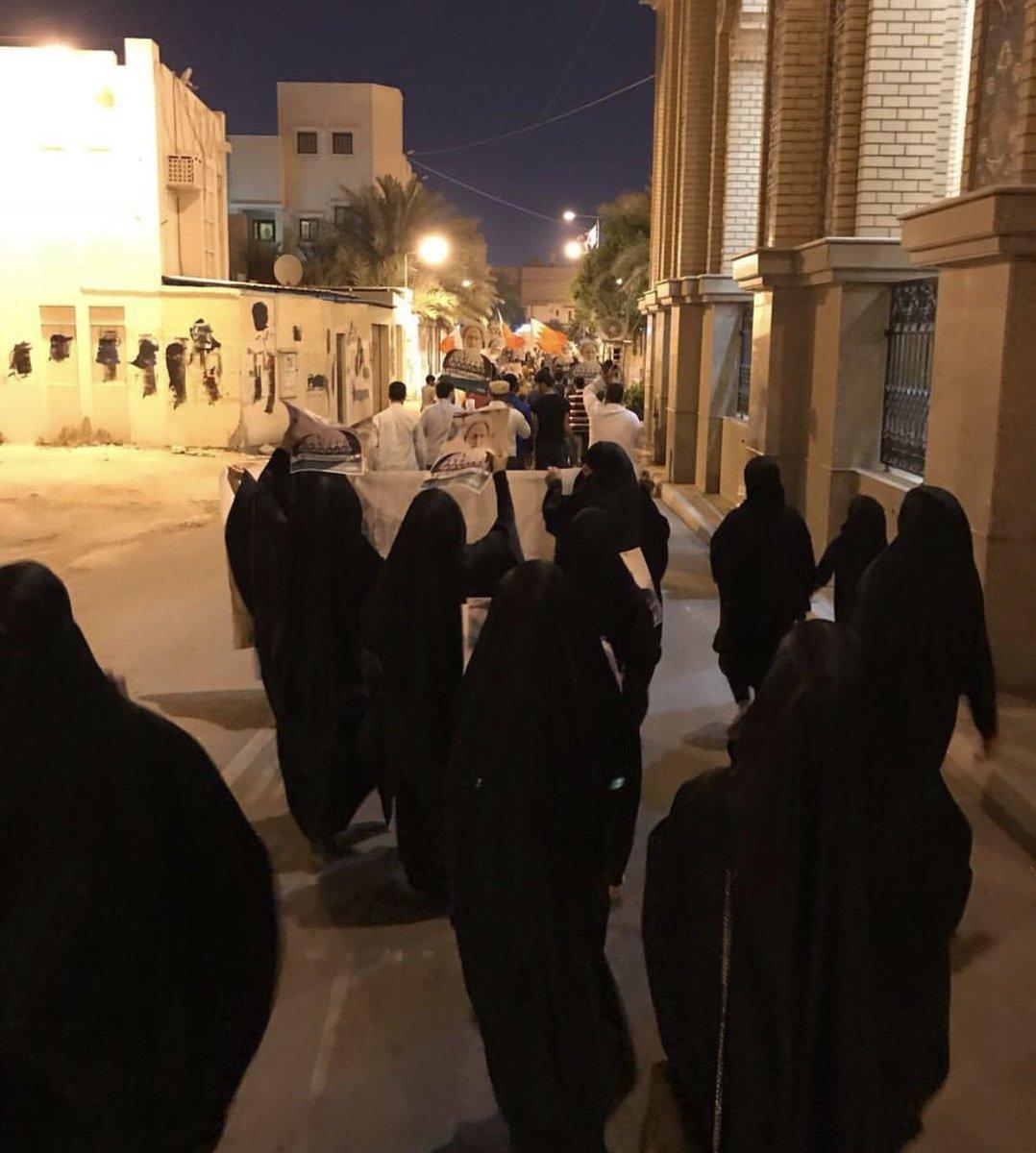 """جماهير الثورة في البحرين تتضامن مع """"شعب اليمن"""""""