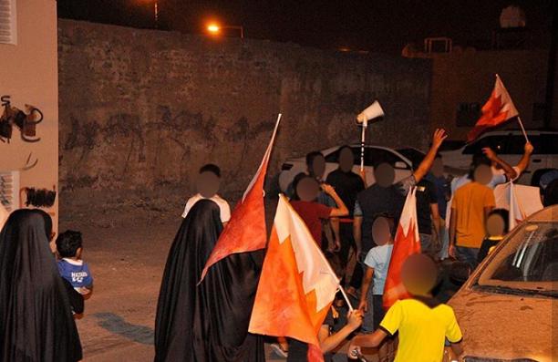 تظاهرة ثوريّة في شهركان تضامنًا مع المعتقلين السياسيّين