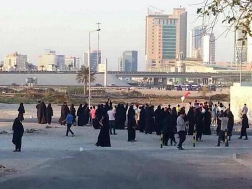 تحضيرات لتظاهرة مركزيّة نحو تقاطع السيف رفضًا لسباقات فورمولا الإرهاب الخليفيّ