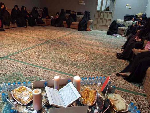 أمسية ابتهاليّة نسويّة في رحاب شهر الله المبارك