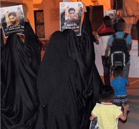 تظاهرة ثوريّة في شهركان تضامنًا مع معتقلي الرأي