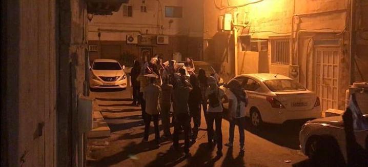 أهالي الديه يتظاهرون استعدادًا لفعاليّة «حقّ تقرير المصير 18»