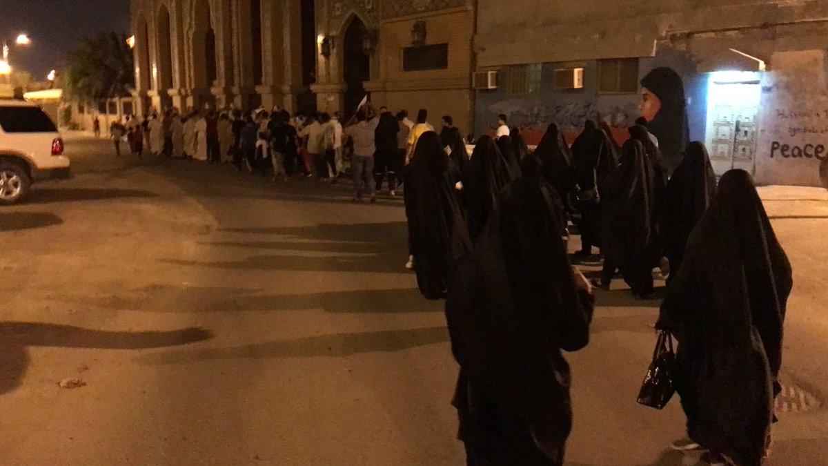 البلدات البحرانيّة تواصل تظاهراتها الثوريّة رغم الانتشار العسكري
