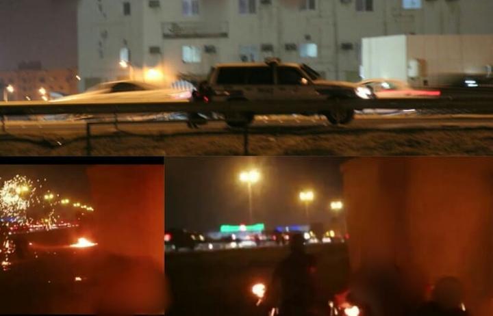 الثوّار يواصلون حراكهم الثوريّ في مناطق البحرين