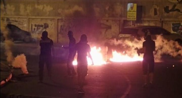 حراك ثوريّ غاضب تضامنًا مع الرموزالمعتقلين السياسيّين
