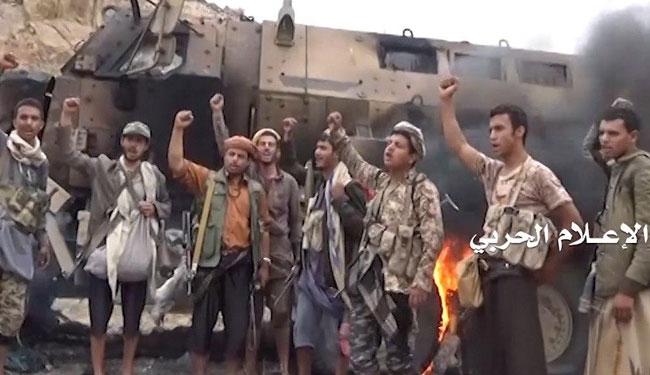 القوات اليمنية تتصدى لمرتزقة العدوان السعودي في الجوف