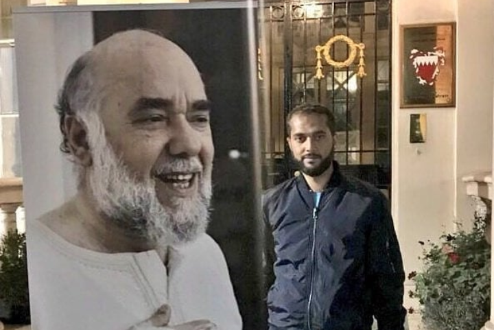 Prisoners of conscience consolidate with activist  «Ali Mushaima» in his sit in