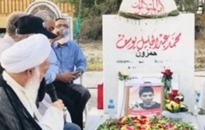 برنامج إيمانيّ عند روضة الشهيد «محمد عبد الجليل» إحياء لذكراه