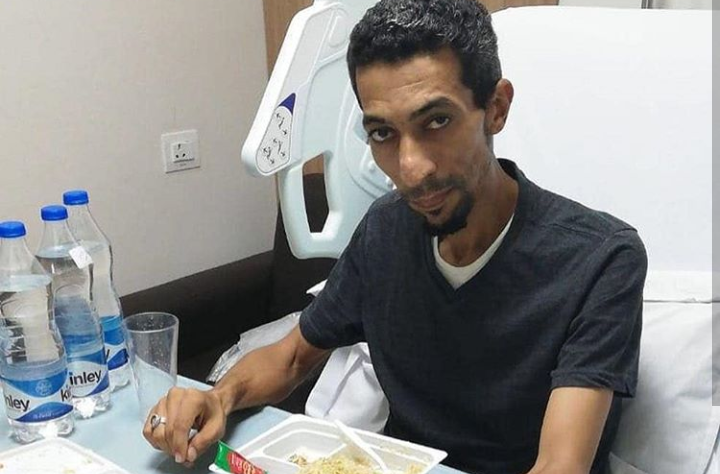 Former prisoner of conscience leaves prison with lung cancer