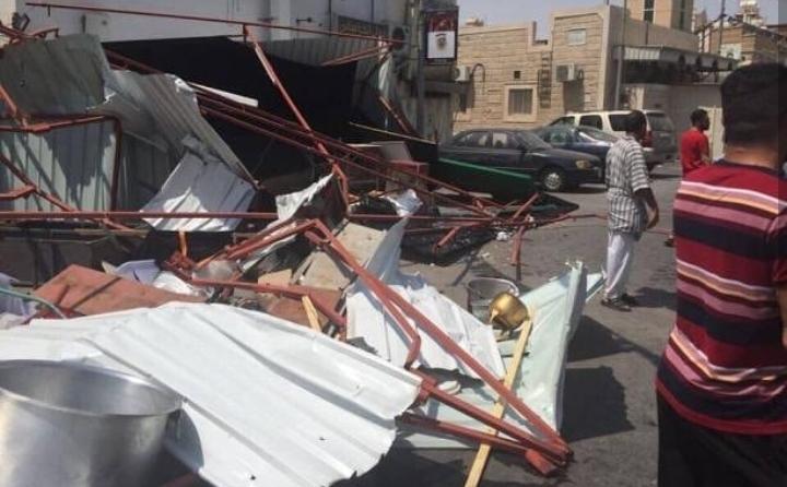 قوّات نظام آل سعود الإرهابيّة تستمرّ في محاربة الشعائر الحسينيّة في القطيف