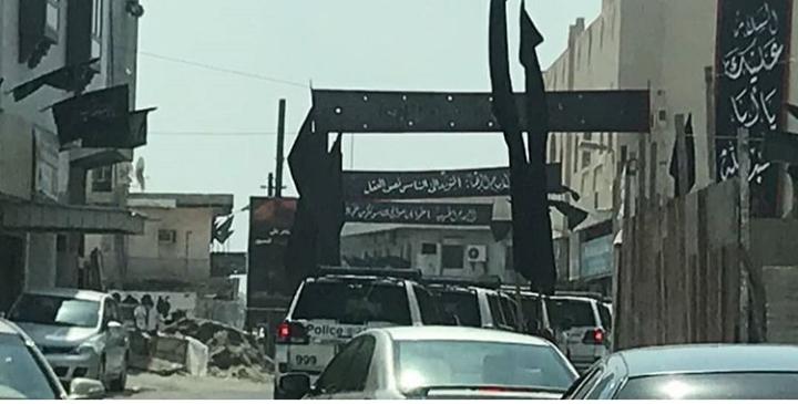 الكيان الخليفيّ يواصل حربه الطائفيّة على الشعائر الحسينيّة