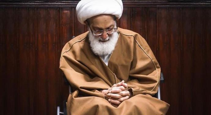 Al- Faqeih, leader Ayatollah Qassim continues to attend Imam Hussein's condolence gathering in London