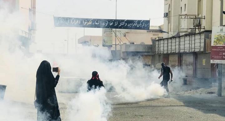 مواجهات حسينيّة في بلدة راية العزّ النويدرات ضمن مسيرات التلبية