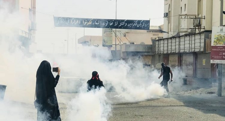 Husseini clashes in town of pride of al-Newidrat during marches of fulfillment