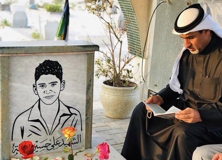 فعاليّة إيمانيّة عند روضة الشهيد «علي حسين نعمة»