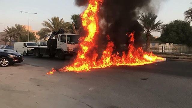أعمدة الغضب ترتفع في الدراز تمسّكًا بالنهج الحسينيّ