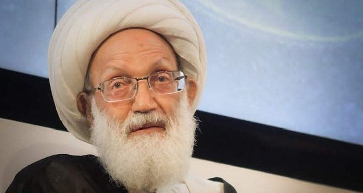 الفقيه القائد آية الله قاسم يخضع اليوم لعمليّة جراحيّة في عينه الثانية