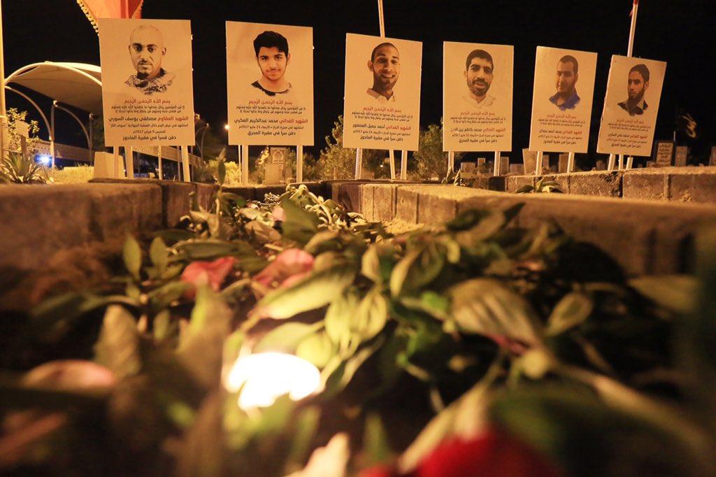رياض الشهداء تضاء بالشموع عشيّة عيدهم