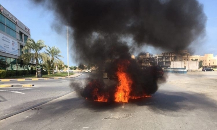 الثوار يرفعون أعمدة الغضب في بلدتي أبو صيبع والشاخورة