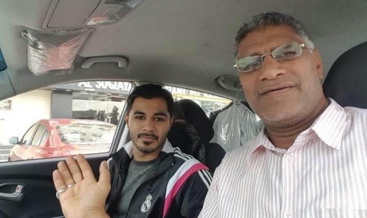 الشاب «علي عبد الزهراء القفاص» يعانق الحريّة