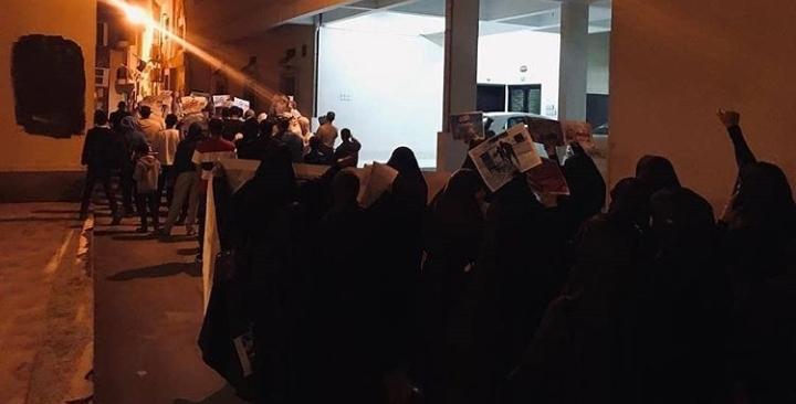 تظاهرة ثوريّة في أبو صيبع والشاخورة تضامنًا مع العلماء واستقبالا لفبراير الثبات