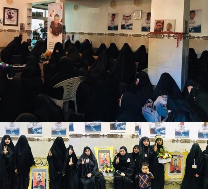 نسويّة ائتلاف 14 فبراير تكرّم عوائل شهداء الحريّة
