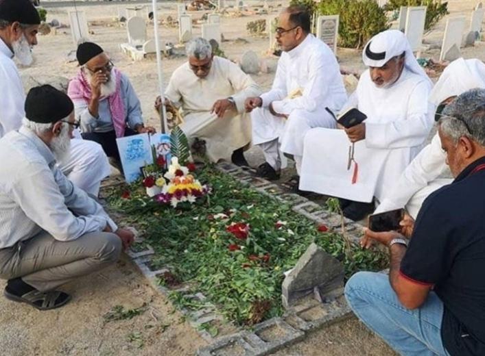 الأهالي يزورون رياض شهداء المقاومة الحسينيّة في الماحوز
