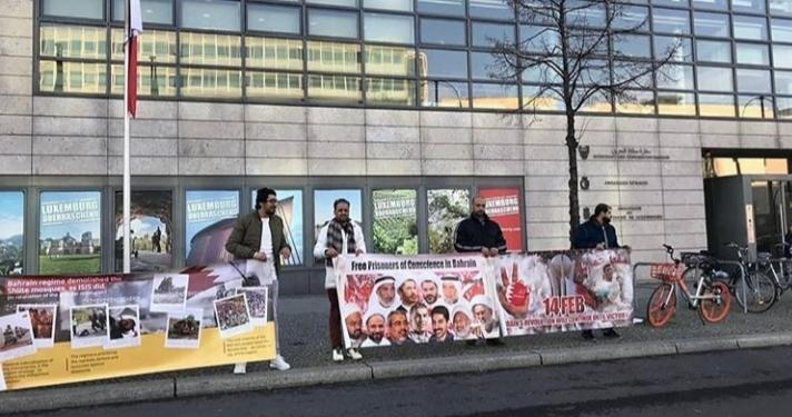 بمناسبة ذكرى الثورة اعتصامات في عدد من العواصم الغربيّة