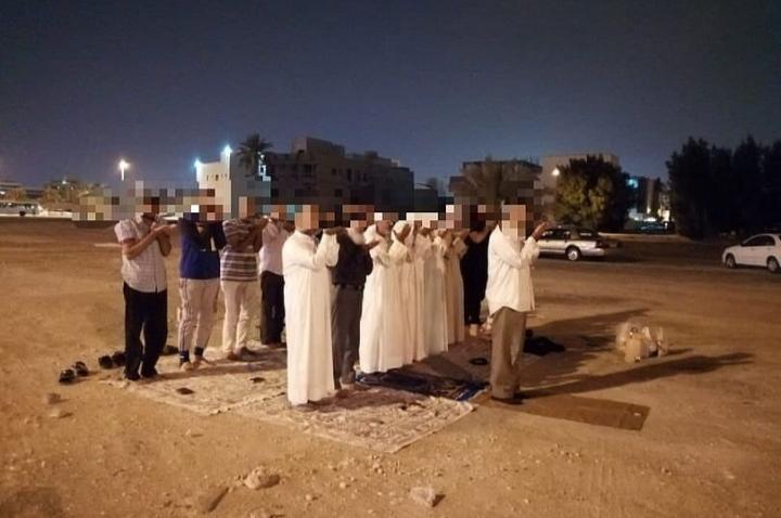 ضمن فعاليّات ثورة المحراب.. استمرار الصلاة في مسجد العلويات المهدّم