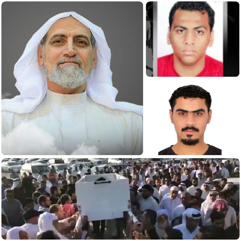 والد معتقلي الرأي «حسين وقاسم سرحان» يشيّع من دون حضورهما