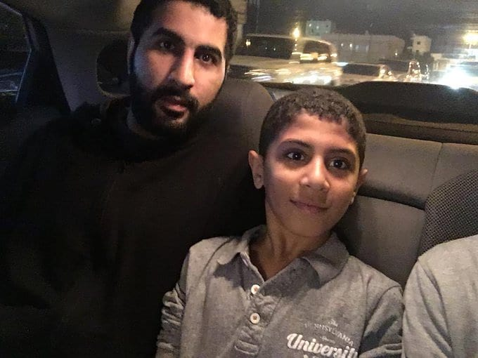 الشاب البطل «حسين محمد جميل» يعانق الحريّة