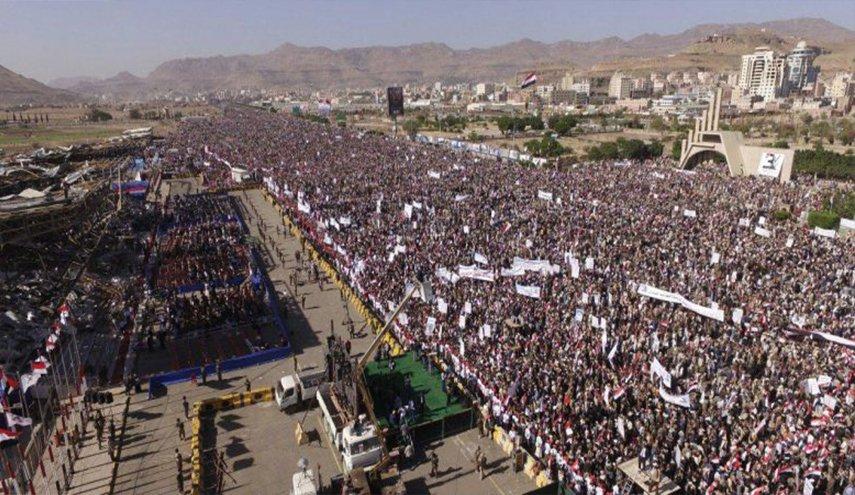 الشعب اليمنيّ يحيي الذكرى الرابعة لصموده أمام العدوان السعودي-الأمريكي