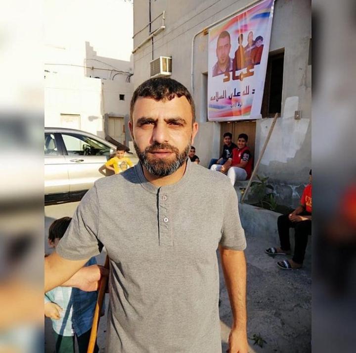 البطلان محمود سبت وعماد محفوظ يعانقان الحريّة