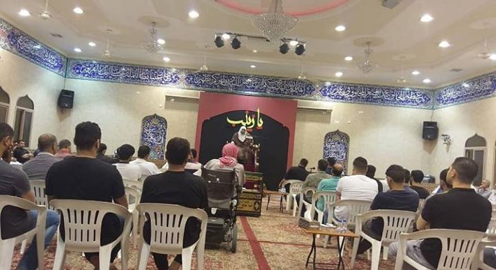 مجلس حسيني في بلدة كرباباد تخليدًا لذكرى الشهيد «مصطفى حمدان»