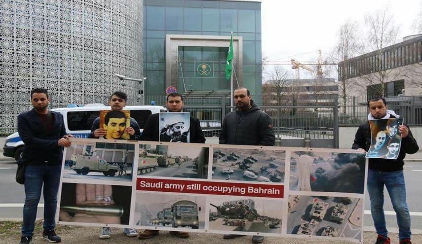 المعارضة البحرانيّة في ألمانيا تدعو إلى اعتصام أمام سفارة النظام السعوديّ في برلين
